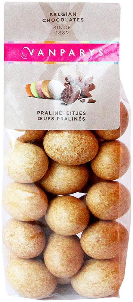 Van Parys Brown Sugar Coated Praline Eggs 150g
