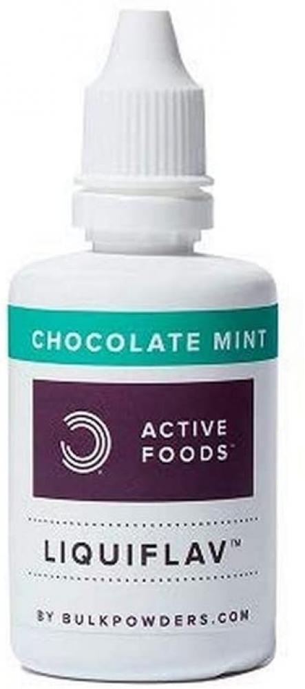 Bulk Powders LiquiFlav Flavour Drops Chocolate Mint 50ml