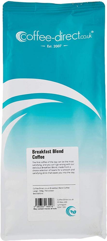 Coffee Direct Breakfast Blend Coffee Percolator Grind 908 g