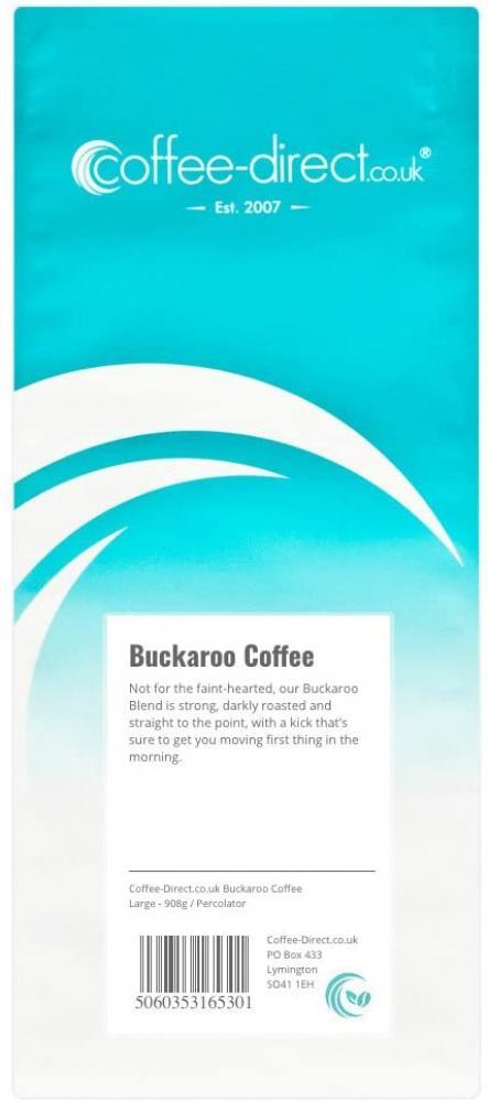 Coffee Direct Buckaroo Coffee Percolator Grind 908g