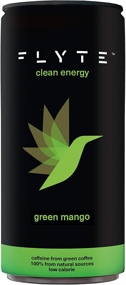Flyte Green Mango Clean Energy Drink 250ml