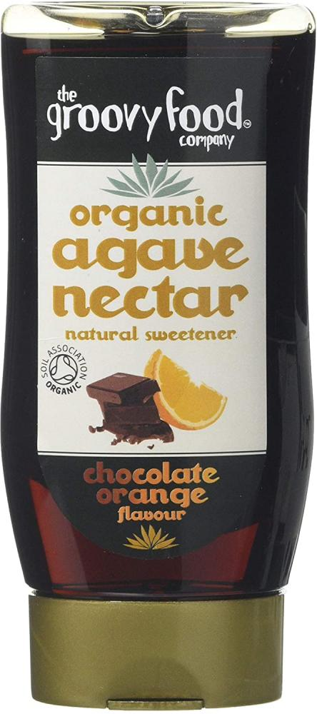 The Groovy Food Company Organic Agave Nectar Chocolate Orange Flavour 250ml