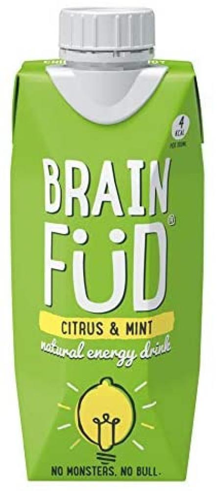 Brain Fud Citrus and Mint 330ml