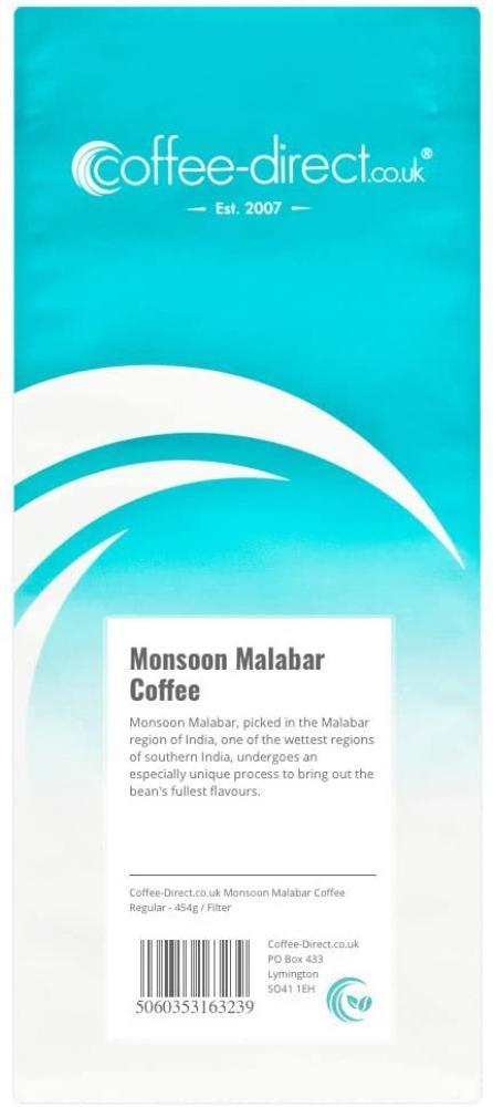 Coffee Direct Monsoon Malabar Coffee 454g