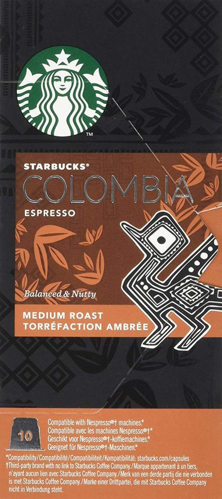 SALE  Starbucks Colombian Coffee Capsules 55g