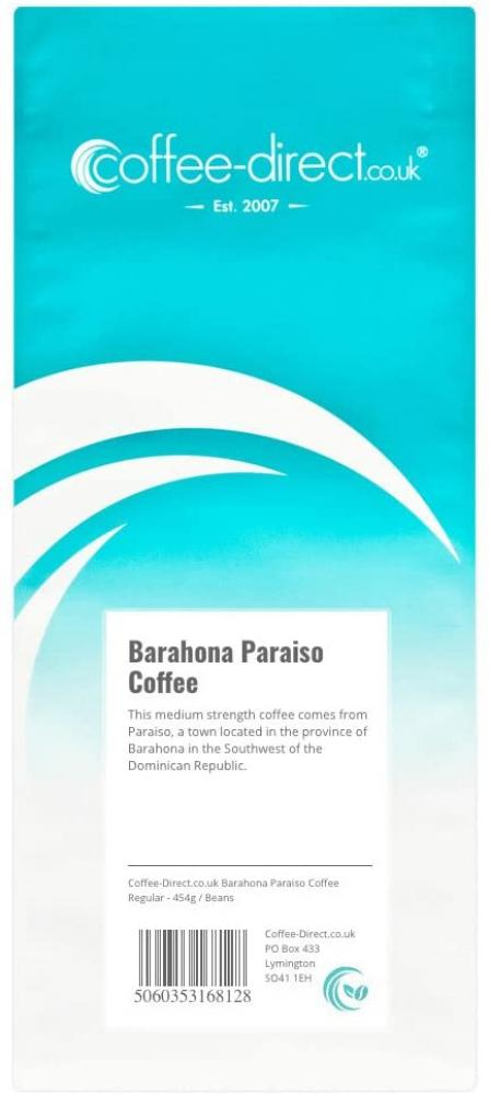 Coffee Direct Barahona Paradiso Coffee Beans 454g