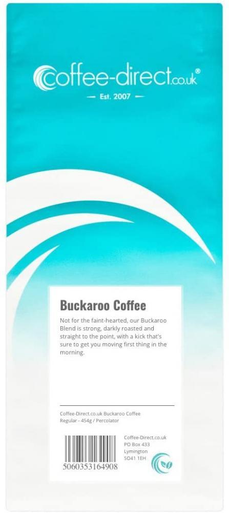 Coffee Direct Buckaroo Coffee Percolator Grind 454g