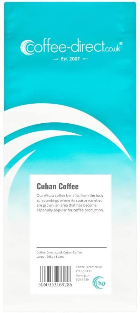Coffee Direct Cuban Coffee Beans 908g