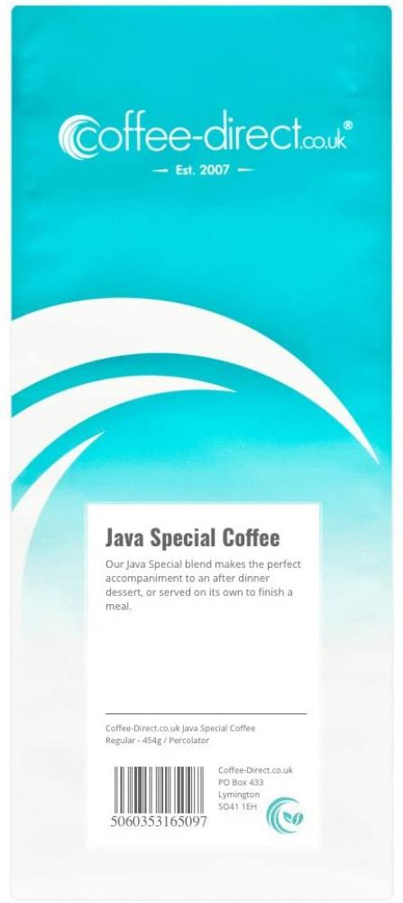 Coffee Direct Java Special Coffee Percolator Grind 454g