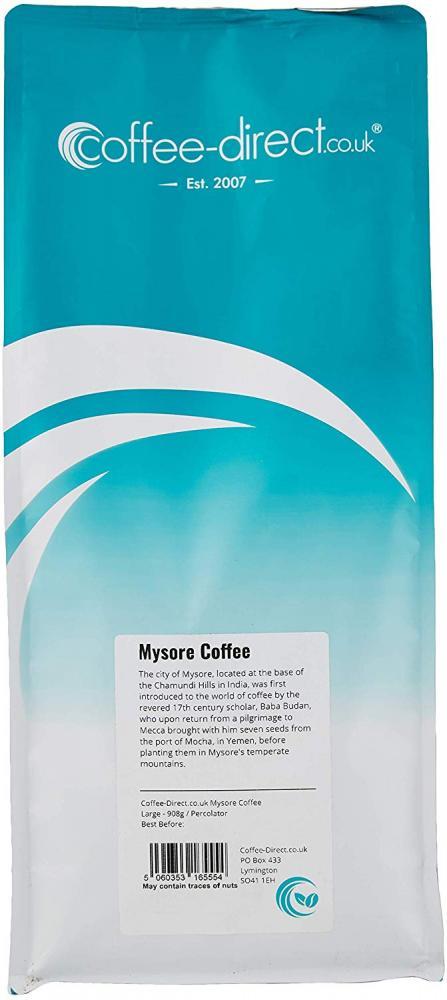 Coffee Direct Mysore Coffee Percolator Grind 908 g