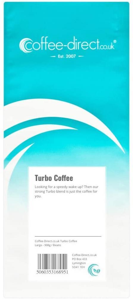 Coffee Direct Turbo Coffee Beans 908 g