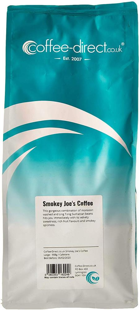 Coffee Direct Cafetiere Grind Smokey Joes Coffee 908 g