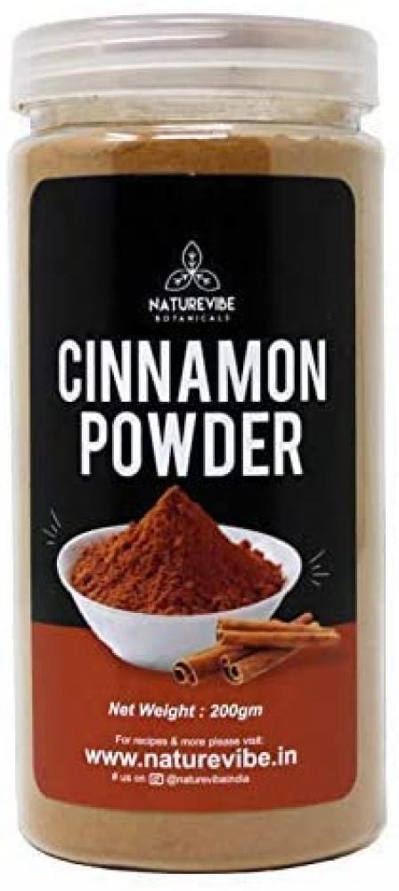 Naturevibe Organic Premium Quality Ceylon Cinnamon Powder 200g