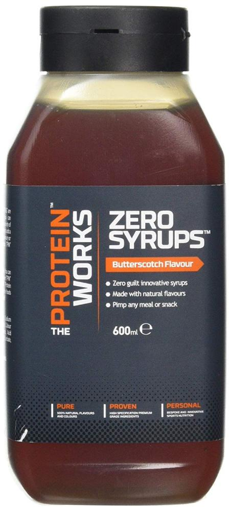 The Protein Works Zero Calorie SyrupsButterscotch 600ml