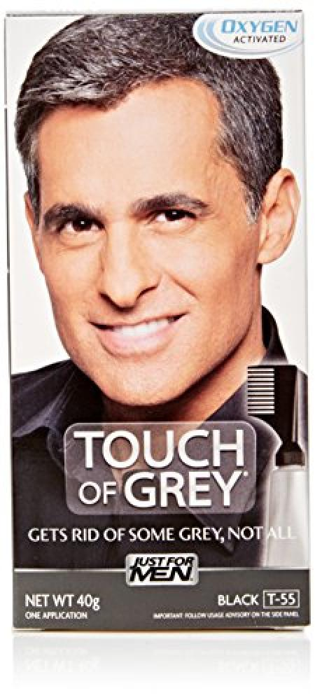 Touch Of Grey T55 Hair Color Black Grey 40g