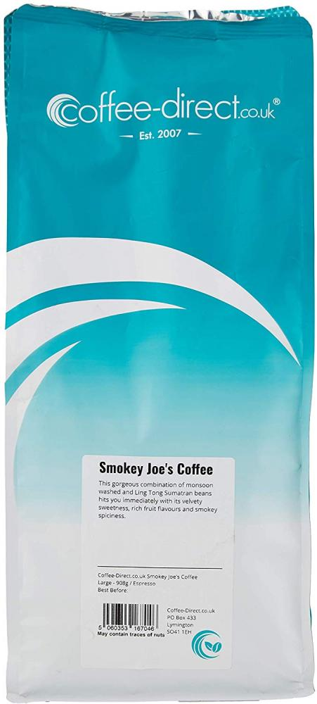 Coffee Direct Smokey Joes Coffee Espresso Grind 908 g