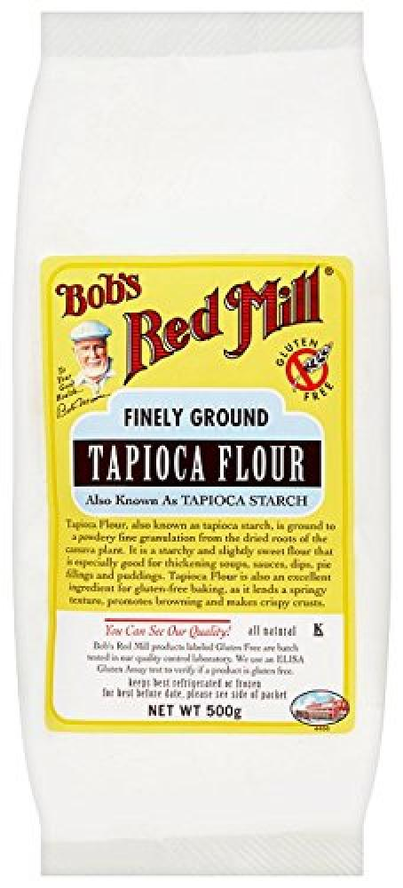 Bobs Red Mill Finely Ground Tapioca Flour 500g