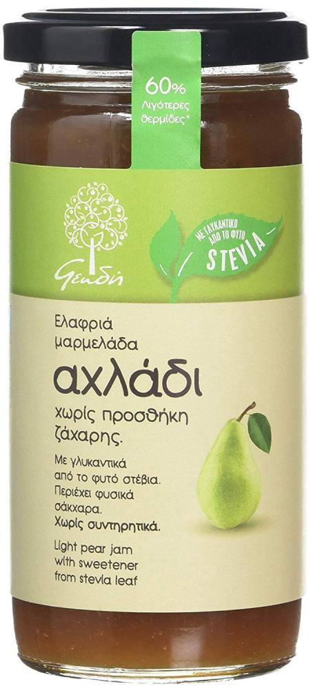 Geodi Pear Spread with Stevia 270g