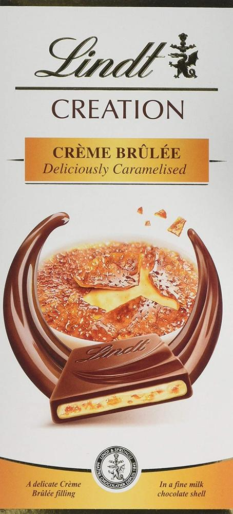 Lindt Creme Brulee Milk Chocolate 150g