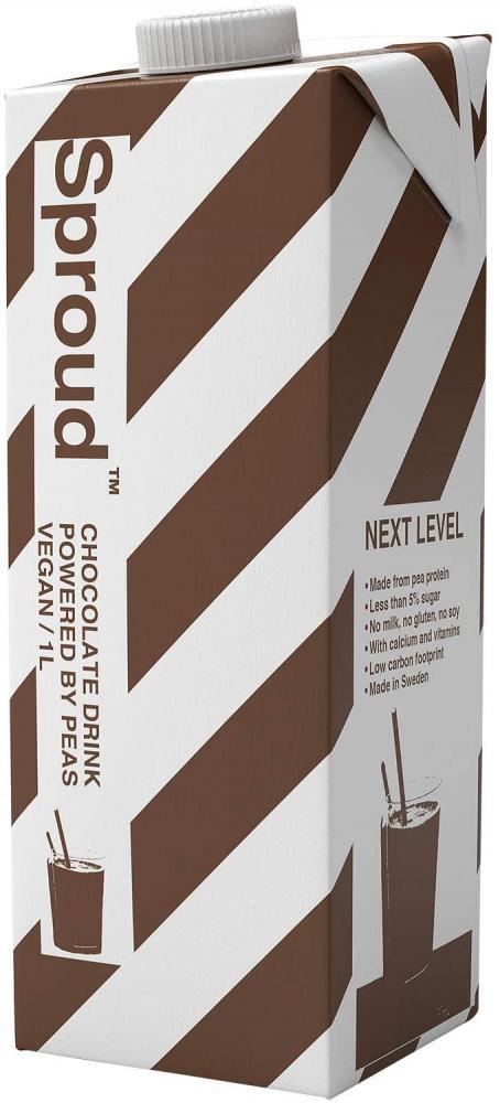 Sproud Vegan Pea Protein Milk Chocolate Flavour 1L