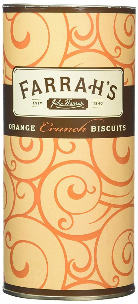Farrahs Of Harrogate Orange Crunch Biscuits 200g