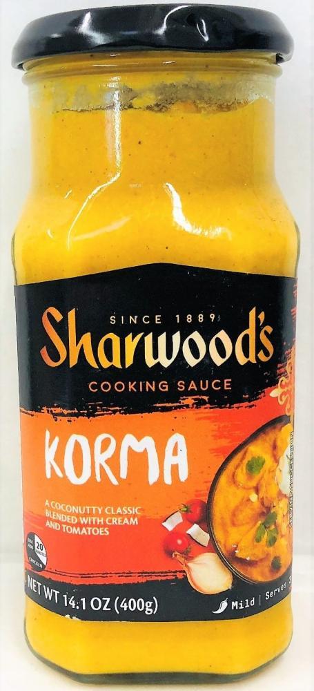 Sharwoods Korma Cooking Sauce 400g