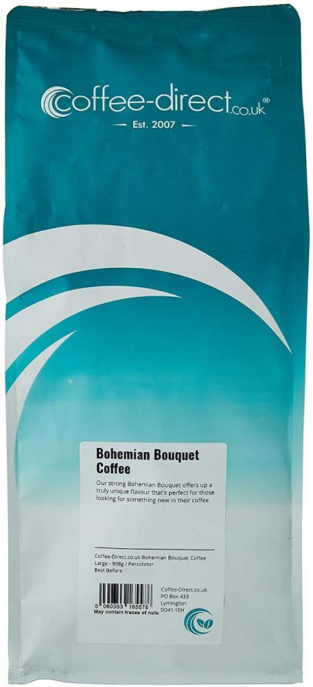 Coffee Direct Bohemian Bouquet Coffee Percolator Grind 908g