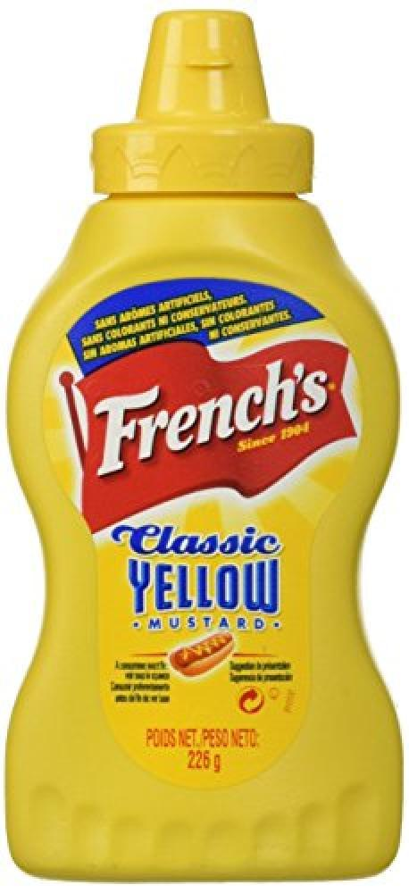 Frenchs Classic Yellow Spicy Mustard 226g