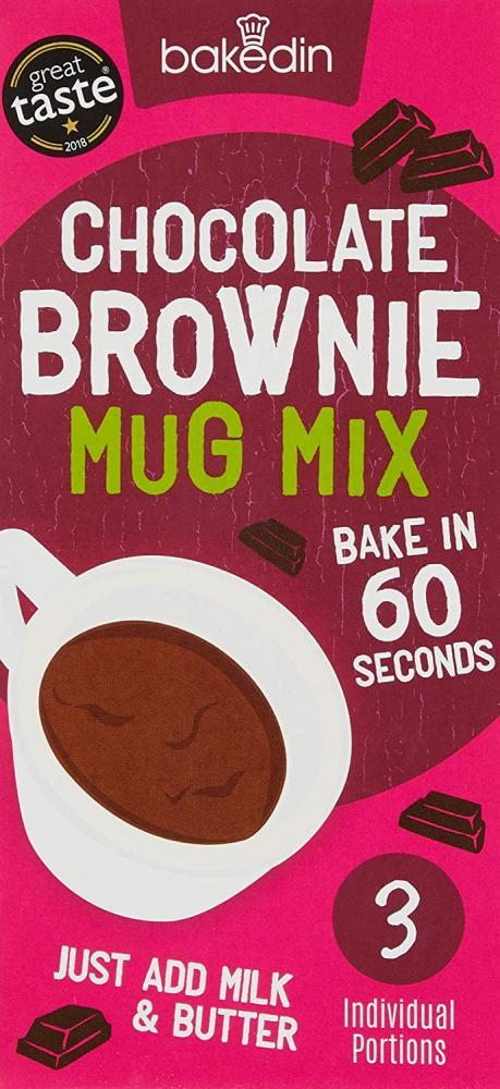 Bakedin Chocolate Mug Brownie Mix 165g