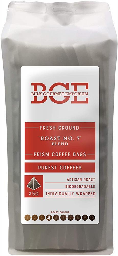 Bulk Gourmet Emporium Artisan Roast No. 7 Fresh Ground Coffee Bags x50