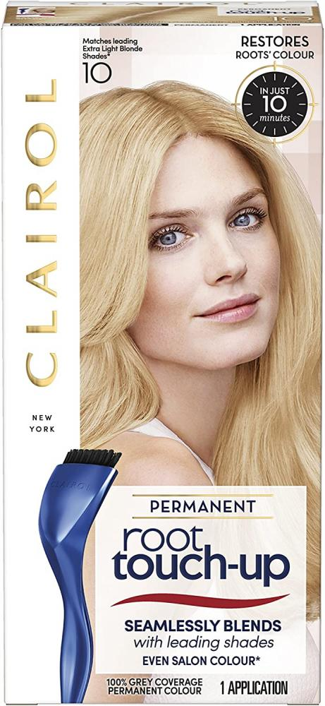 Clairol Root Touch-Up Permanent Hair Dye 10 Extra Light Blonde