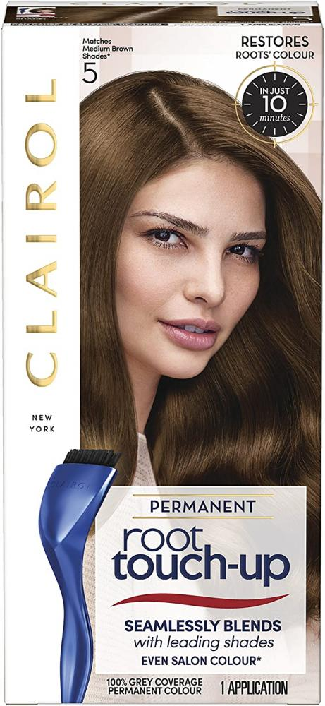 Clairol Root Touch-Up Permanent Hair Dye 5 Medium Brown