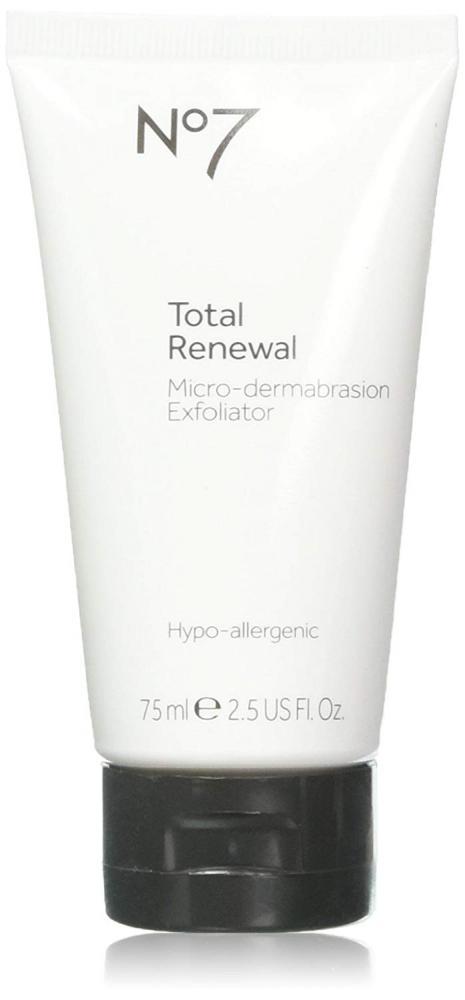 Boots No7 Total Renewal Micro-Dermabrasion Exfoliator 75 ml
