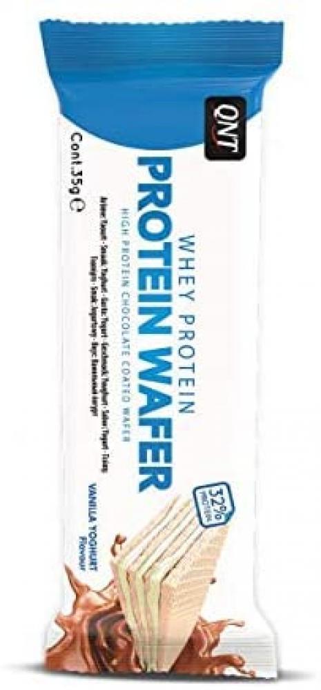 QNT Protein Wafer Bar Vanilla Yoghurt 35 g