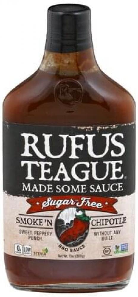 SALE  Rufus Teague Smoke N Chipotle BBQ Sauce 369g