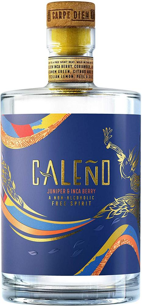 Caleno Non-Alcoholic Distilled SpiritInfused with Juniper and Inca Berry 70 cl