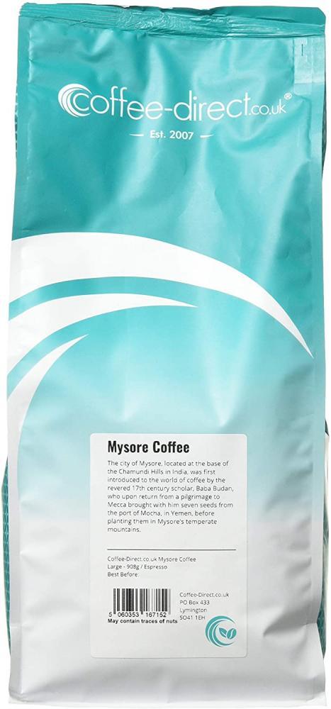 Coffee Direct Mysore Coffee Espresso Grind 908g