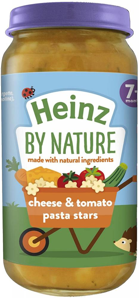 WEEKLY DEAL  Heinz Cheese And Tomato Pasta Stars 7 Months Plus 200g