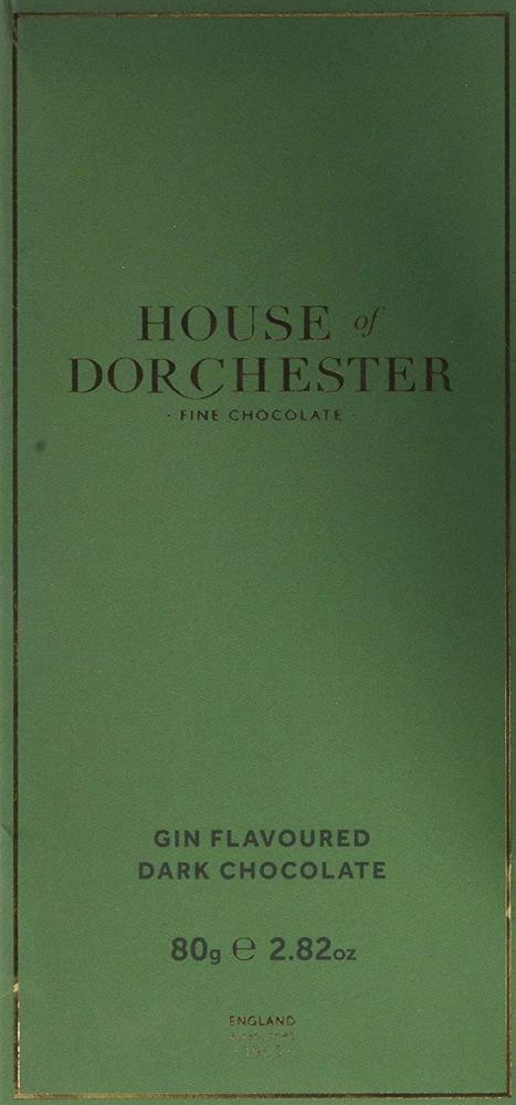 House Of Dorchester Gin Flavoured Dark Chocolate Bar 80 g