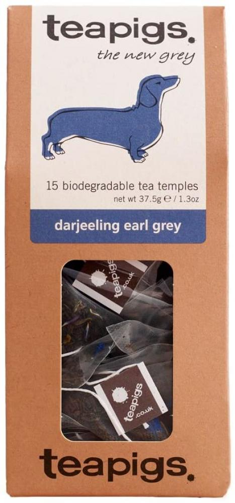 Tea Pigs Earl Grey Tea Bags Made with Whole Leaves 37.5g