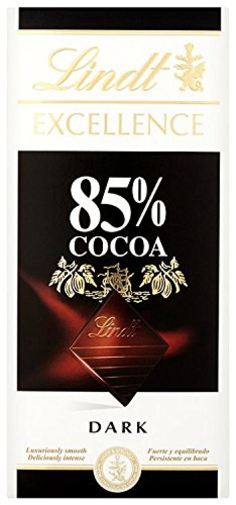 Lindt Excellence 85 Cocoa Dark Chocolate Bar 100 g