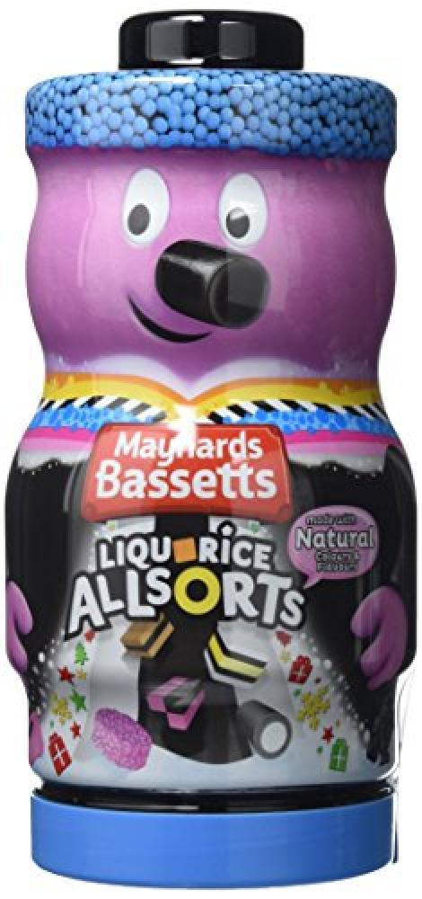 Maynards Bassetts Liquorice Allsort Jar 495g