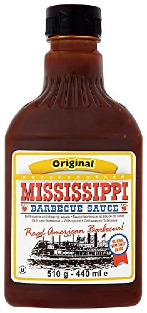 Mississippi Barbecue Sauce Original 510g