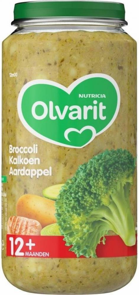 Olvarit Broccoli turkey potato 250g