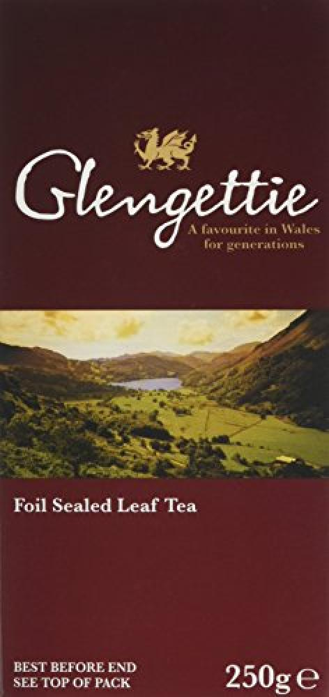Glengettie Foil Sealed Leaf Tea 250g