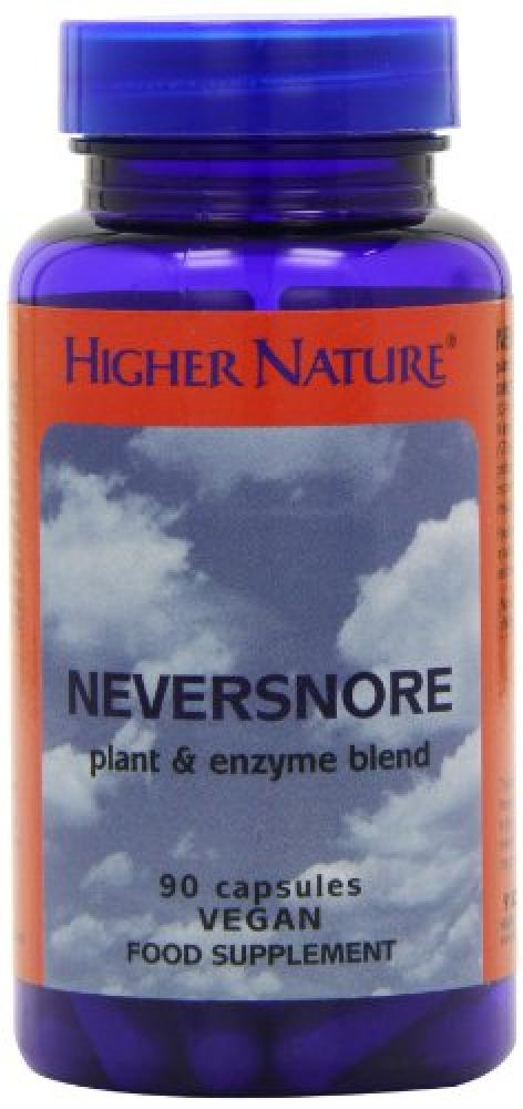 Higher Nature Never Snore Pack of 90