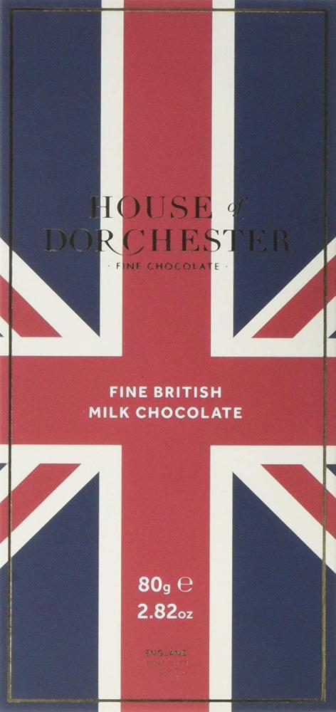 House Of Dorchester Fine British Milk Chocolate Bar 80g