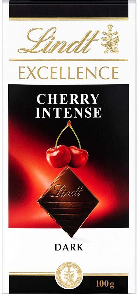 Lindt Excellence Dark Cherry Chocolate Bar 100g
