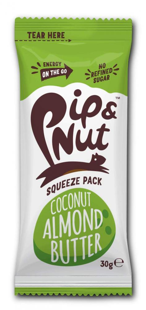 Pip and Nut Coconut Almond Butter Squeeze Pack 30g