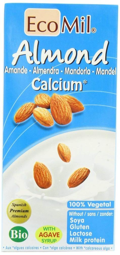 EcoMil Organic Almond Drink Nature Calcium 1L